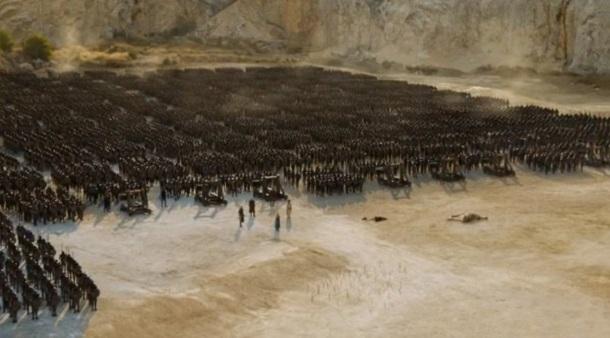«Гра престолів» побила власний рекорд: одну сцену знімали 55 ночей