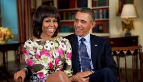 Барак і Мішель Обами займуться зйомками фільмів та серіалів