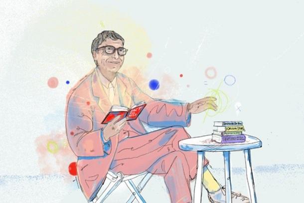 Білл Гейтс порадив п'ять книжок на літо