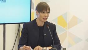 Найкращою відповіддю на пропаганду РФ буде захист вільного поширення правдивої інформації – президент Естонії