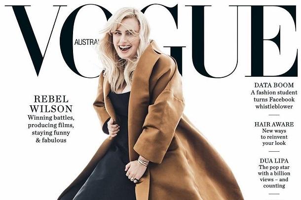Читачі розкритикували обкладинку Vogue за фото з акторкою Ребел Вілсон