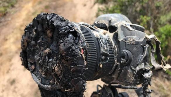 Камера, яка розплавилась під час зйомок запуску ракети Falcon 9, стане експонатом в штаб-квартирі NASA