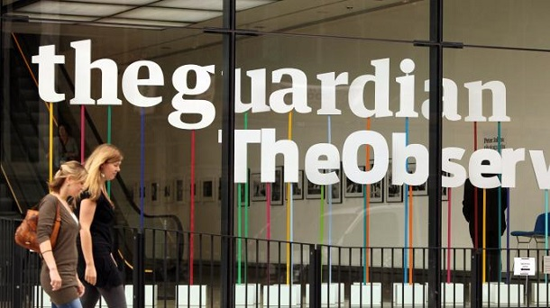 Вперше в історії цифрові прибутки медіакомпанії Guardian перевищили доходи від друку