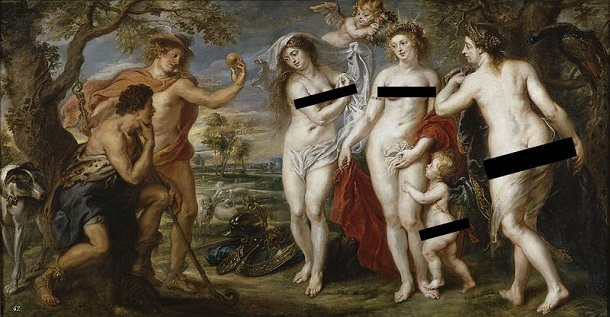 Бельгійське туристичне бюро висміяло Цукерберга за забанені картини Рубенса