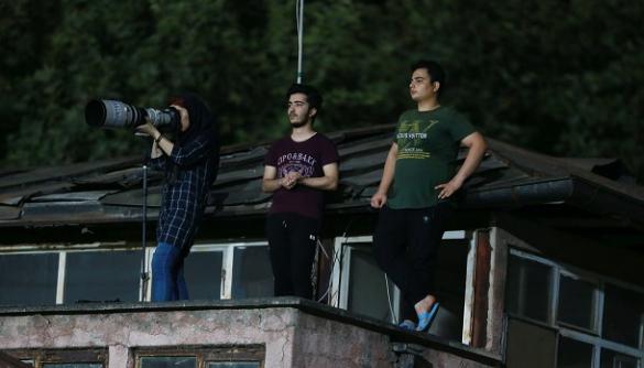 Іранська фотографка вперше зняла матч національної ліги між чоловічими командами