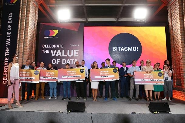 Конкурс Open Data Challenge назвав переможців