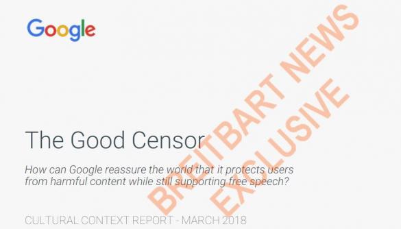 У мережу виклали презентацію Google про «хорошу цензуру» компанії