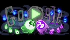 Google запустив святковий дудл та гру до Геловіну