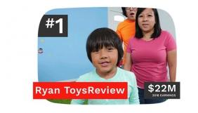 Forbes склав рейтинг найбільш високооплачуваних блогерів YouTube — його очолив семирічний хлопчик