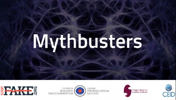 13 грудня —  міжнародний воркшоп із протидії дезінформації Mythbusters