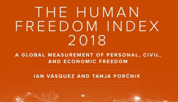 Індекс свободи людини: Україна — між ОАЕ та Республікою Того, Росія нижче