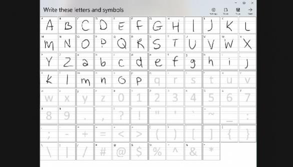 Microsoft презентувала сервіс для створення шрифту з почерку