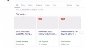 Google показала, як виглядатимуть «останні новини» в ЄС через директиву про авторське право