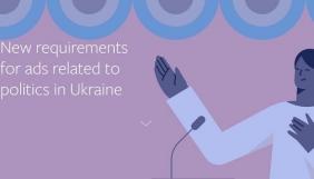 Facebook почав перевіряти особу українців, які хочуть запускати політичну рекламу