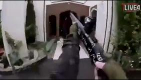 Стрілянину у новозеландських мечетях транслювали у соцмережах