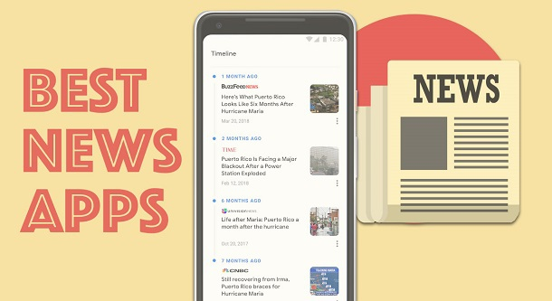 П'ять популярних додатків для читання новин. Варто встановити?
