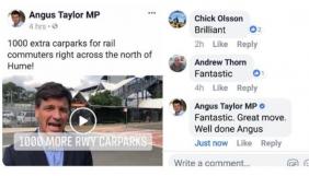 Молодець Ангус: міністра Австралії підловили на величанні самого себе у Facebook