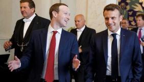 Блокують 65 % без скарг — Цукерберг похвалився Макрону боротьбою з мовою ворожнечі