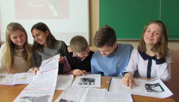 У школі на Полтавщині поєднують уроки медіаграмотності з іншими предметами