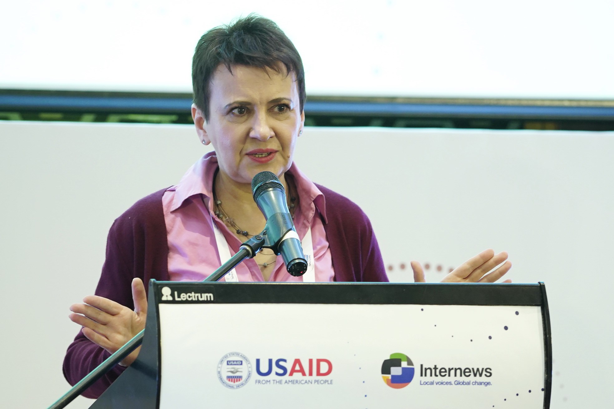«Путінізація медіа» як складова гібридної війни: Виступ письменниці Оксани Забужко на National Media Talk