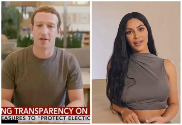 Facebook заявила, що в Instagram не видалятиме глибинні фейки з Кардаш'ян та Цукербергом