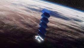Три із 60 супутників Маска для інтернету перестали виходити на зв'язок