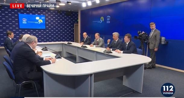 «112 Україна» у прямому ефірі транслював зустріч «За життя» з «Єдиною Росією»
