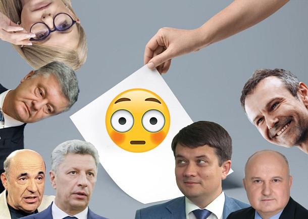 Головне з програм шести політичних партій: що обіцяють виборцям у 2019 році