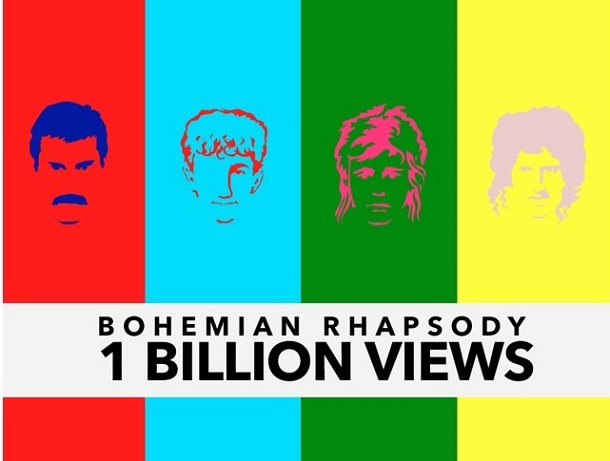Кліп гурту Queen встановив абсолютний рекорд на ютубі