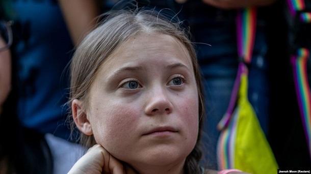 Грета Тунберг змінила опис у Twitter після критики Путіна