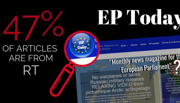 Фейковий сайт Європарламенту наповнювали матеріалами RT