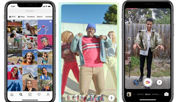 Instagram запустив сервіс-аналог TikTok. Поки тільки у Бразилії