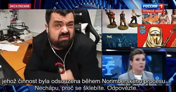 «Ви п'яні чи обкурені?» Чеський політик в прямому ефірі посміявся над російськими пропагандистами