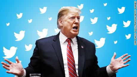 Трамп встановив особистий рекорд із кількості твітів на день