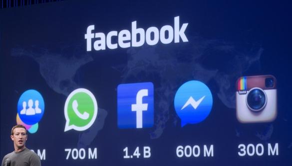 Facebook володіє чотирма найбільш популярними додатками десятиліття — аналітики