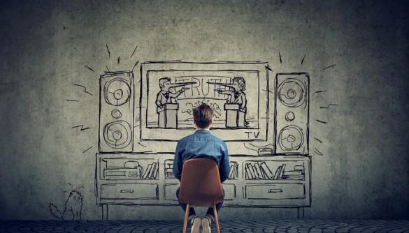 Теленовости и телесериалы отражают и программируют действительность