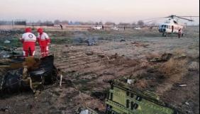 Катастрофа літака в Ірані: у МАУ та РНБО просять коментувати тільки перевірену інформацію