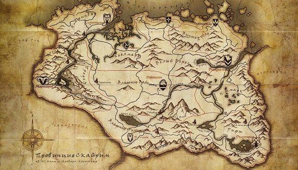 У підручнику з географії виявили карту з комп'ютерної гри (ФОТО)