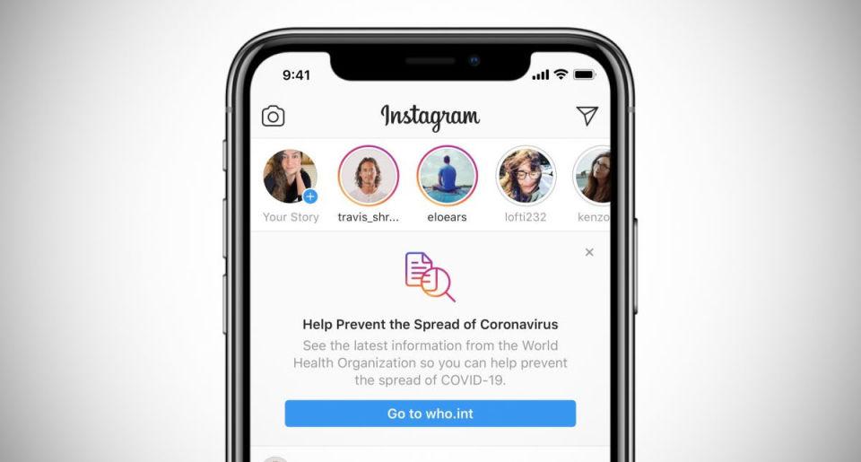 В Instagram заборонили фільтри, які нібито «діагностують» коронавірус