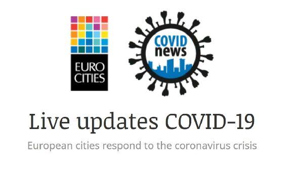 Eurocities створила інформплатформу, де збирають ініціативи міст щодо життя в умовах пандемії