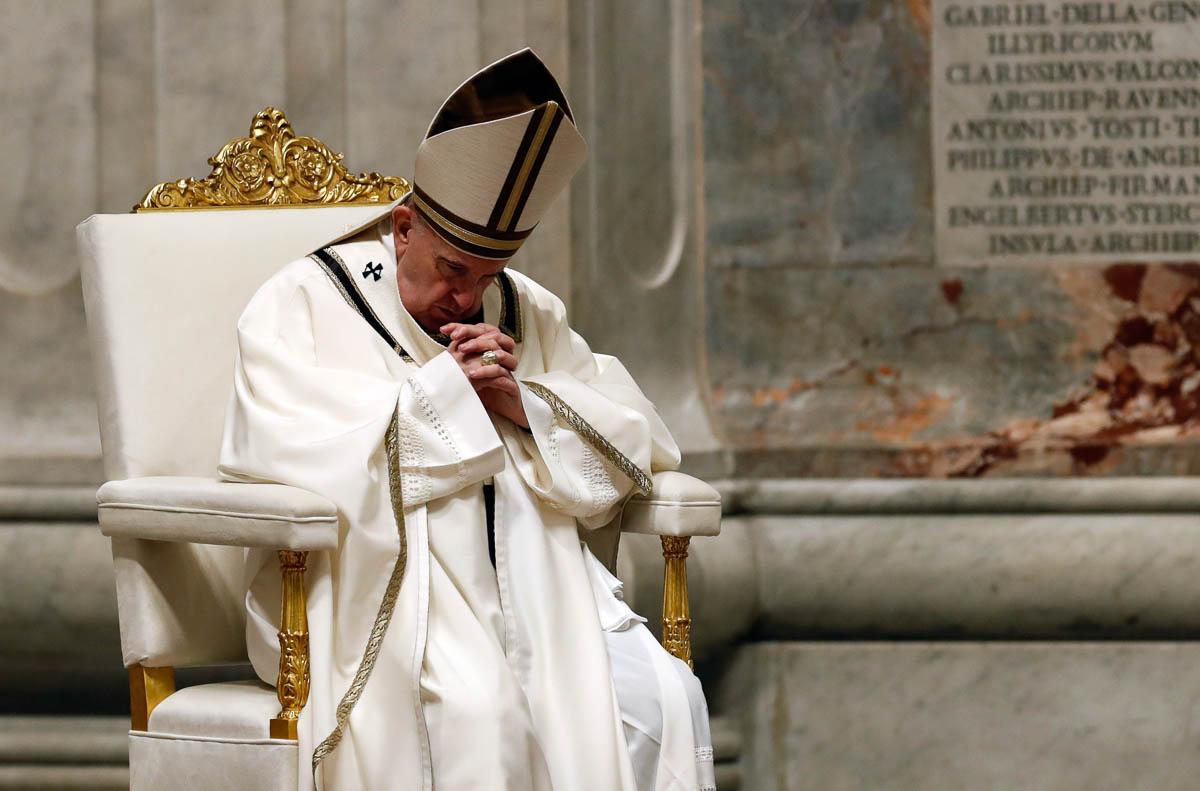 «Сльози папи Франциска на Великдень» — чергова маніпуляція ЗМІ