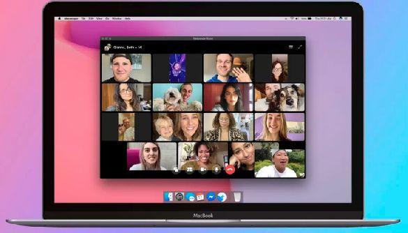 Facebook анонсувала нову функцію для відеодзвінків до 50 осіб