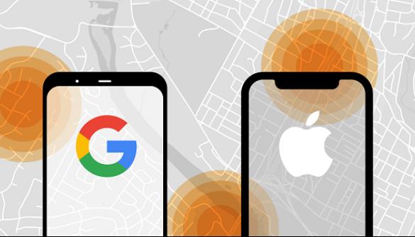 Google і Apple заборонять відстежувати місцезнаходження пацієнтів з COVID-19