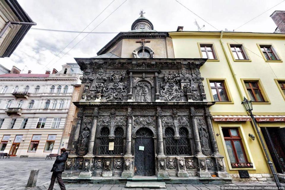У Львові відцифрували знамениту каплицю Боїмів. Подивіться, як будівля виглядає у 3D (ВІДЕО)