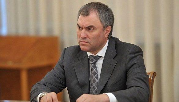 Голова Держдуми РФ звинуватив США у дезінформації про COVID-19, щоб «розчленувати Росію»