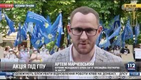 «112» без суду виніс вирок Сергію Стерненку — моніторинг