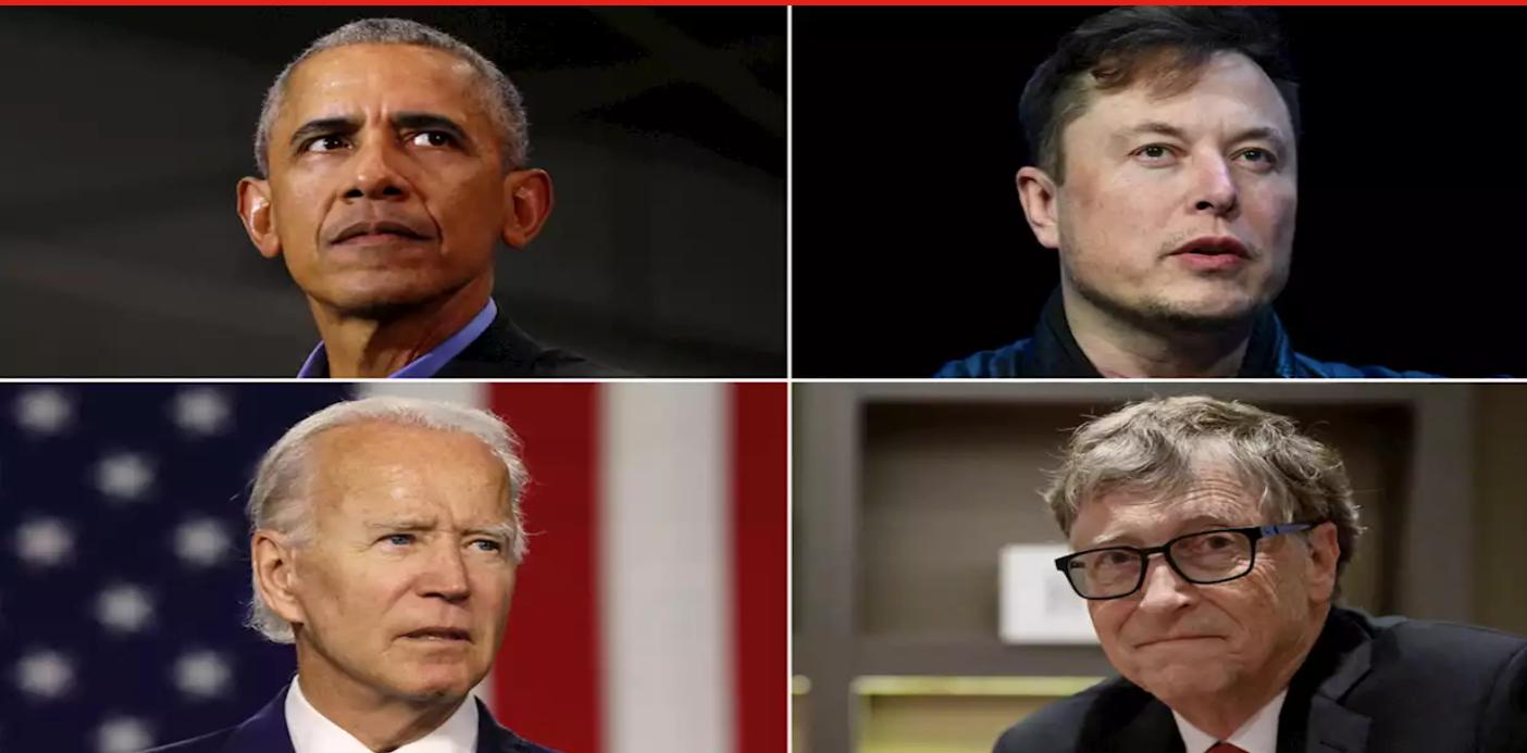 Хакери зламали Twitter. З акаунтів Ілона Маска, Білла Гейтса, Барака Обами та інших людей закликали пересилати біткоїни