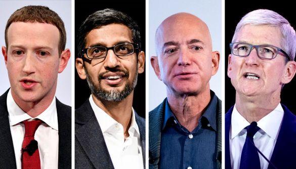 Керівники Apple, Facebook, Google та Amazon свідчать в Конгресі США. Їх підозрюють у монополізації ринку