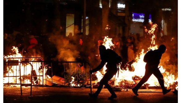 Білоруське державне інформагентство використало фото з Барселони для ілюстрації протестів в Білорусі