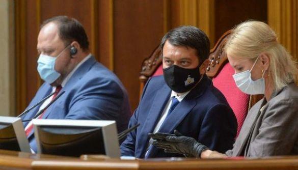 Рада скасувала пленарні засідання через велику кількість хворих на COVID-19